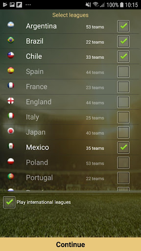 Cyberfoot Soccer Manager Cyberfoot.2019.0030 screenshots 2
