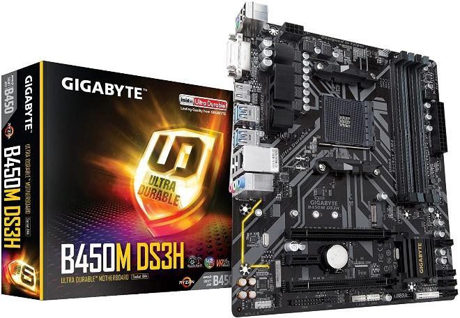 Gigabyte B450M DS3H motherboards