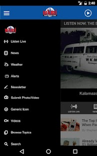 WKMI - Kalamazoo's Talk Radio 1360- screenshot thumbnail