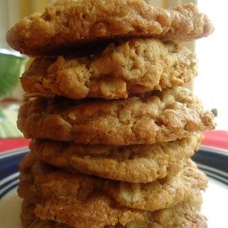 Whole Wheat Oatmeal Butterscotch Cookies