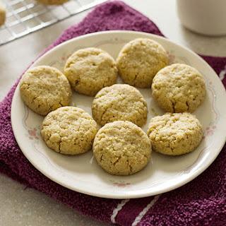 Keto Gingersnap Cookies.
