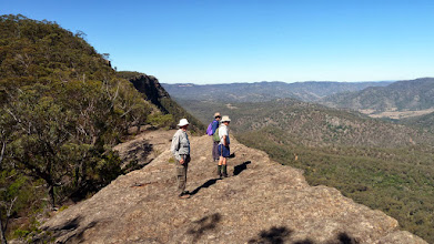 Photo: Views south over the Wollondilly Valley (David, Phillip and Evan)
