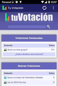Tu Votación screenshot 0