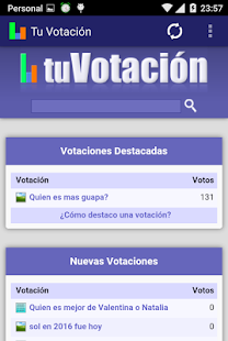 Tu Votación- screenshot thumbnail