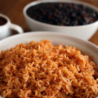 Mexican-Style Rice with Mole Gravy (Wendy Goodfriend).