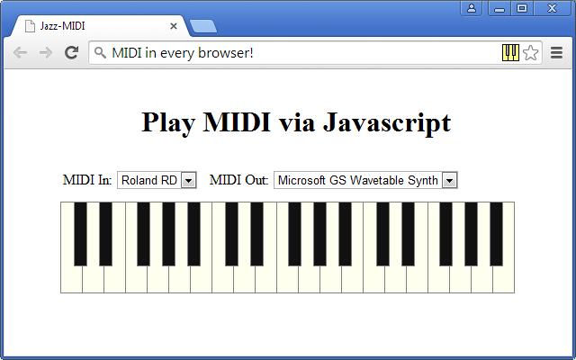 Jazz-MIDI
