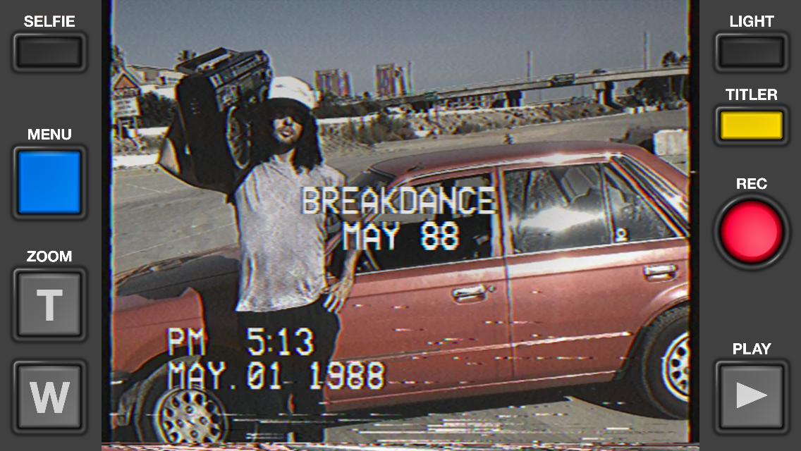 VHS Camcorder- screenshot