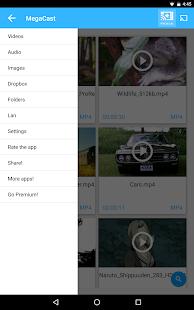 MegaCast - Chromecast player- صورة مصغَّرة للقطة شاشة
