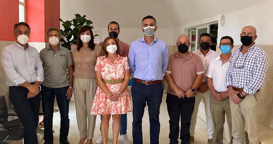 El alcalde de Almería recibe al nuevo Consejo Rector de CASI