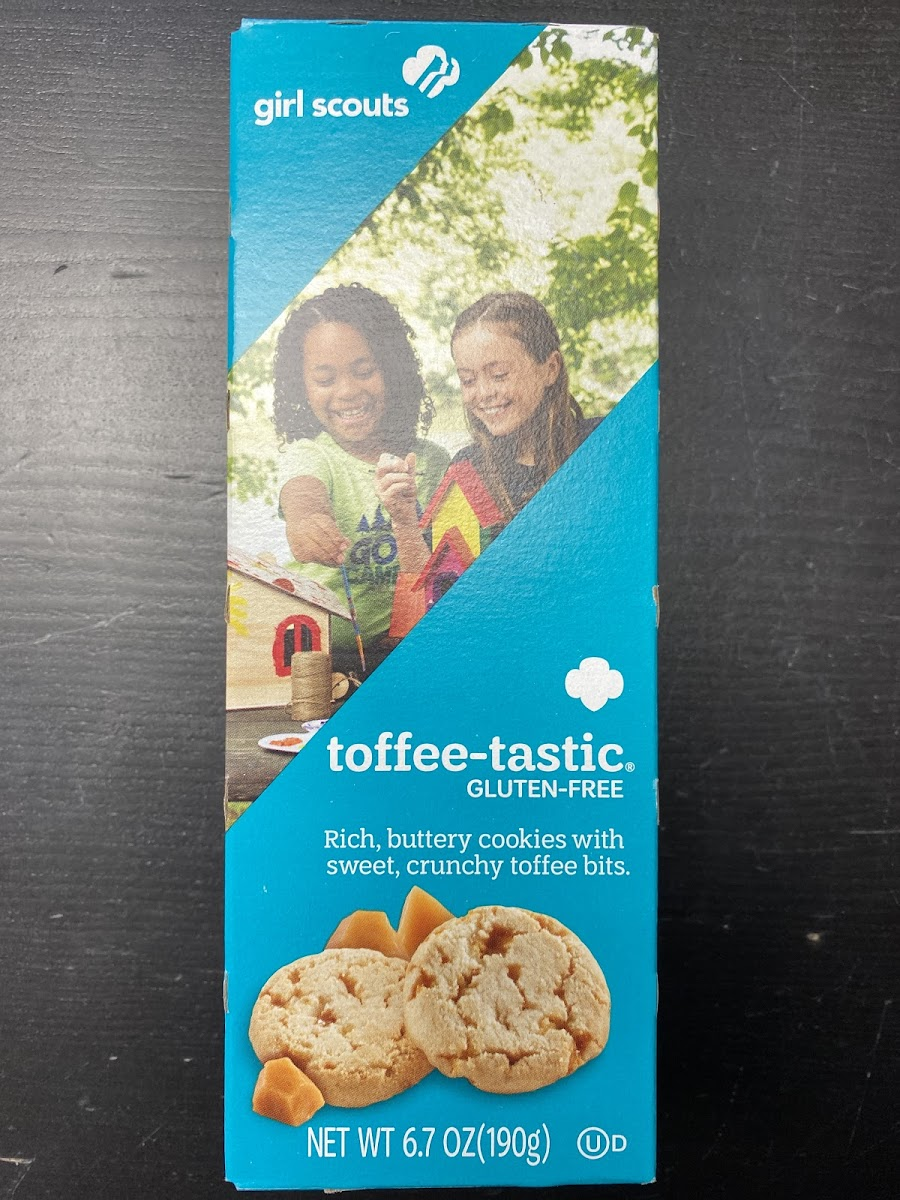 Toffe-Tastic Gluten Free Cookies