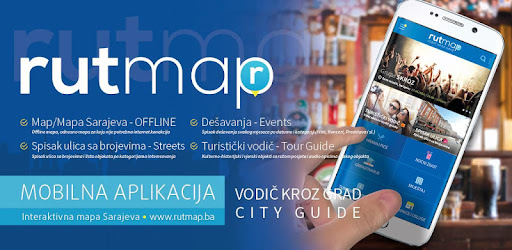 mapa subotice ulice Sarajevo Guide Rutmap   Offline Map   Apps on Google Play mapa subotice ulice