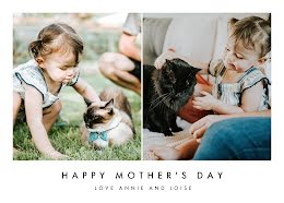 Cat Mom Furever - Mother's Day Card item