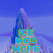 Map Elsas Ice Castle Frozen MCPE