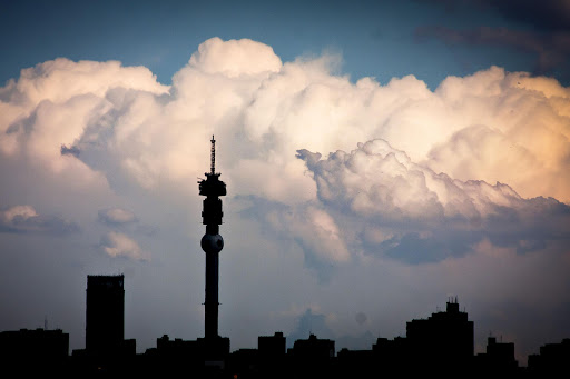 The Johannesburg skyline. File photo