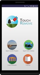 TouchRemove Screenshot