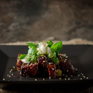 Beef Teriyaki with Sesame Cucumber Salad