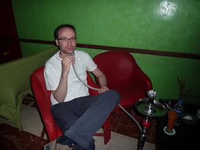 Photo: Kairo, Torsten mit Shisha