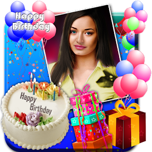 Birthday Cake Photo Frame Editor : Birthday Greeting Cards Maker - Android Apps on Google Play