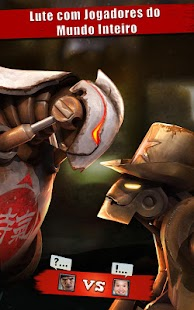 Iron Kill Jogos de luta Robô Screenshot