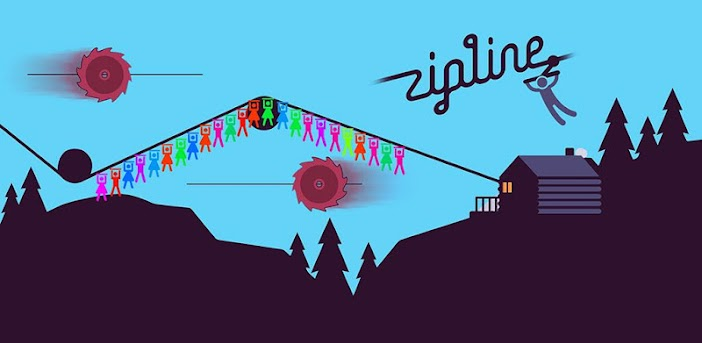 Zipline Valley – Physik-Puzzlespiel