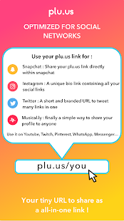 Plu.us - Your online world in one word