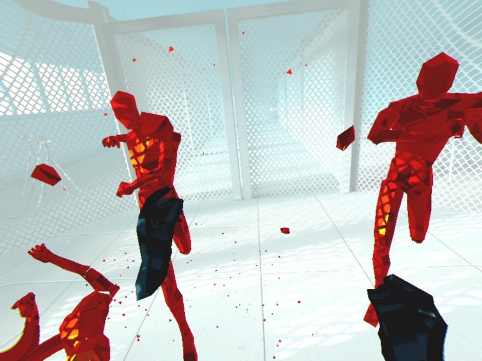Superhot VR recenzja
