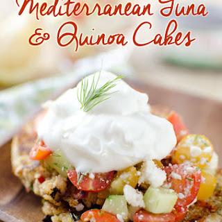 Mediterranean Tuna & Quinoa Cakes