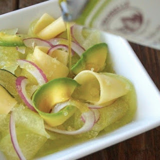 Shaved Melon-Avocado Salad