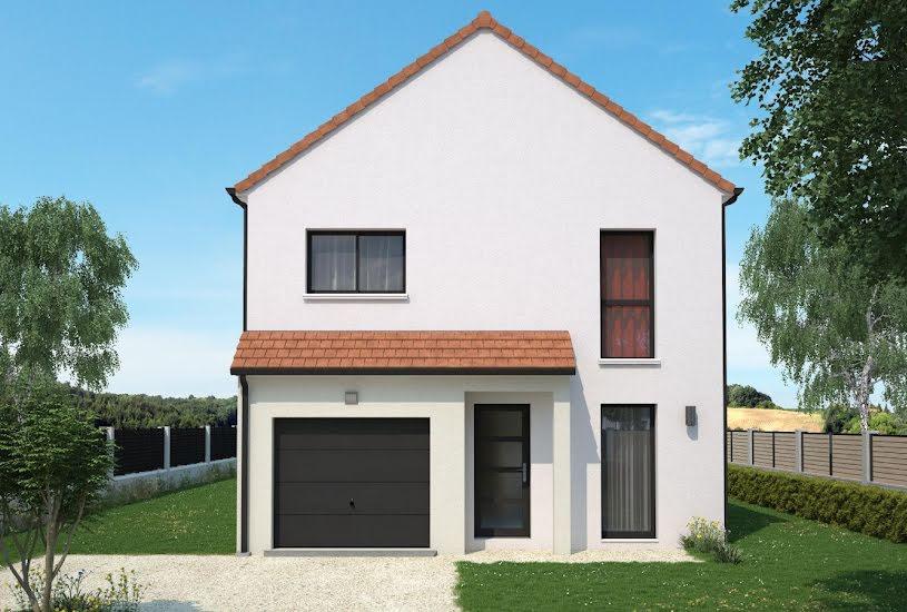 Vente Terrain + Maison - Terrain : 477m² - Maison : 90m² à Châteauneuf-sur-Loire (45110)
