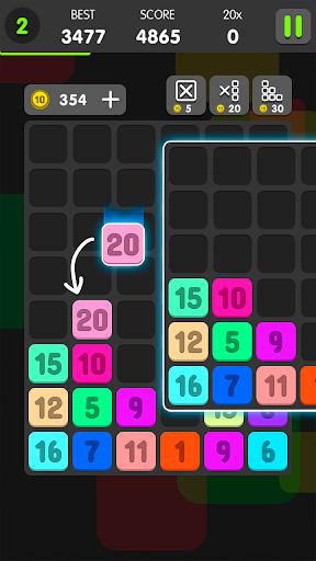 Télécharger gratuit Drag And Merge Puzzle APK MOD 1