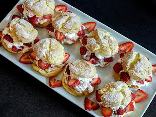 Strawberry Cream Puffs Recipe