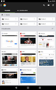 Bookmark Thumbnails & Folders 16