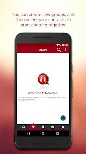 Noredoo Business Messenger - náhled