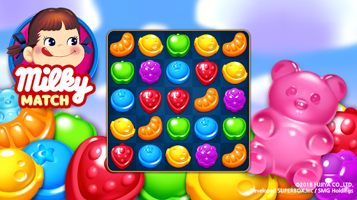 Milky Match : Peko Puzzle Game - screenshot
