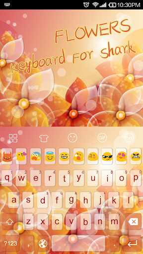 Emoji Keyboard-Flower
