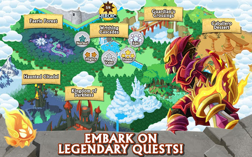 Knights & Dragons u2694ufe0f Action RPG 1.65.100 screenshots 5