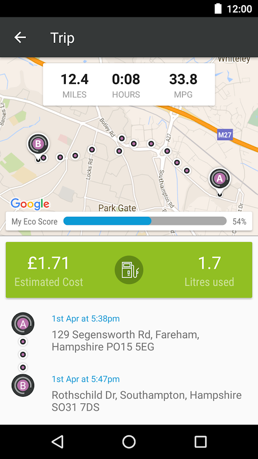 SmartDriver Viewpoint- screenshot