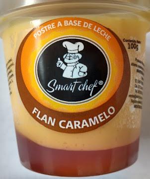 Flan Smart Chef Caramelo   X100G.