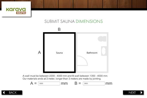 Kärävä sauna application