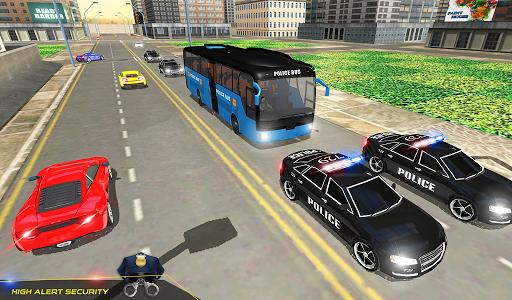 US Police Bus Transport Prison Break Survival Game 4.0 screenshots 12