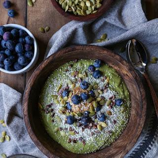 Superfood Green Smoothie Bowl Recipe