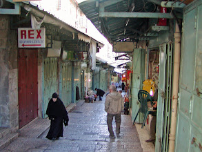 Photo: One of the marketplace streets in the Old City