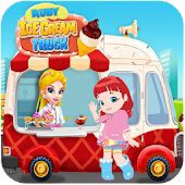 Free - Ruby Ice Cream Rainbow Truck