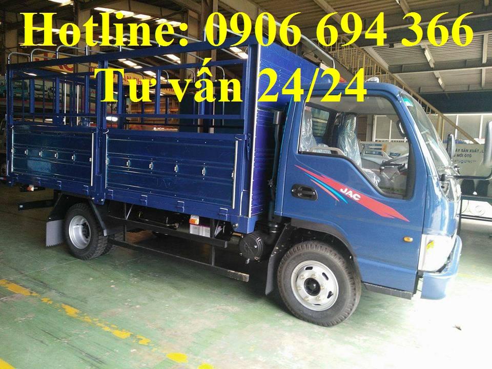 Bán xe tải Jac 2 tấn 4/ Jac 2.5 tấn máy isuzu hỗ trợ vay cao uy tín sài gòn