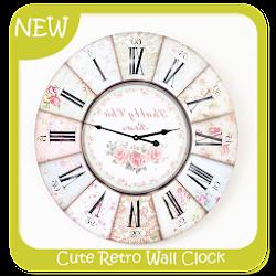 Cute Retro Wall Clock