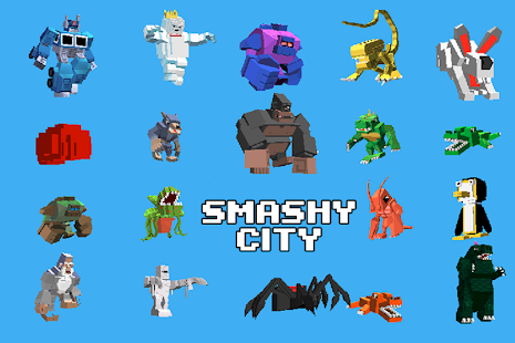Smashy City - Monster Game (Mod Money)