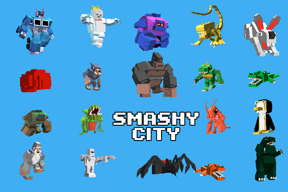 Smashy City- screenshot
