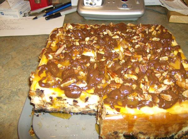 Chocolate Chip Chsecake/fudge Truffle Topping Recipe