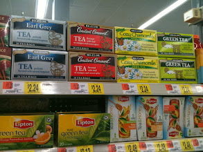 Photo: Hooray! This store has fully stocked shelves of delicious tea.