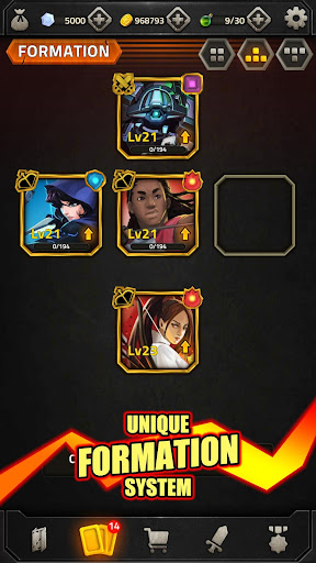 Epic Match 3 RPG - Heroes of Elements apkmr screenshots 6